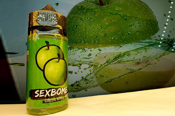 Apple E Juice Vape Táo Xanh Sex Bomb