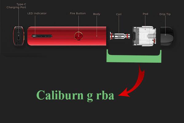 Caliburn g rba