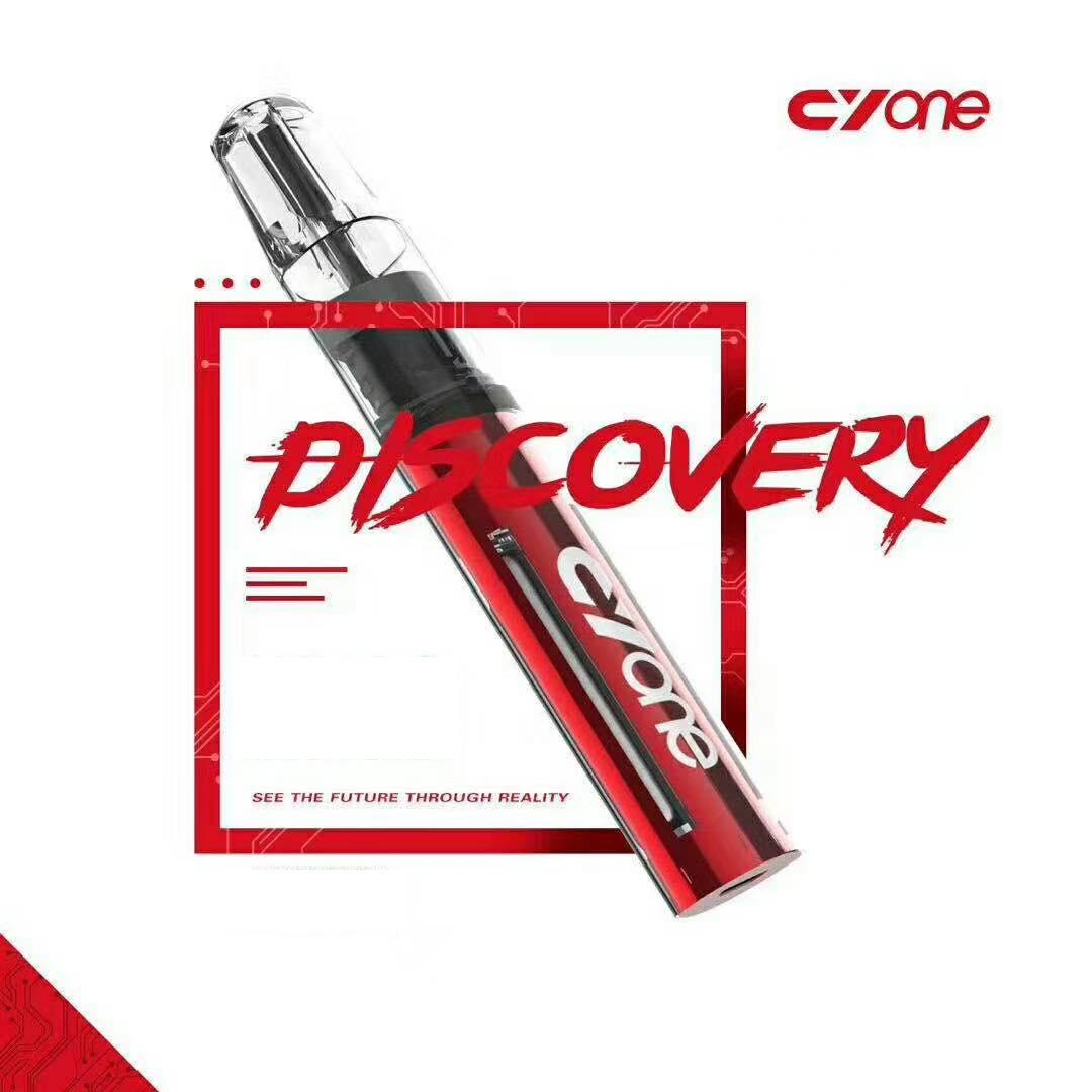 Cyone Discovery vỏ trong suốt sử dụng pod RELX giá 350k tại Vaporshop