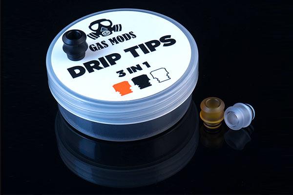 GAS MOD DRIP TIP 3IN1 -vp