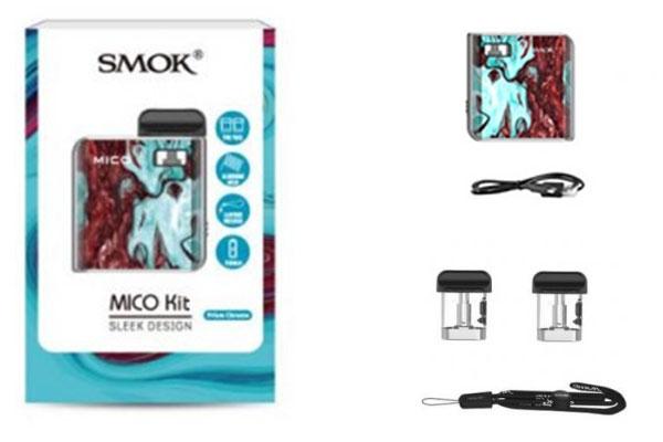 Trọn bộ Pod Mico được sản xuất trên công nghệ hiện đại