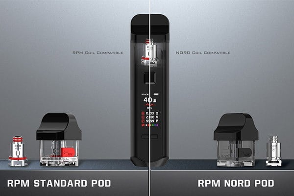 RPM40 nord coil  vape