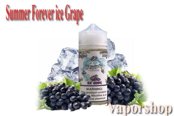 Summer Forever ice Grape 100ml.