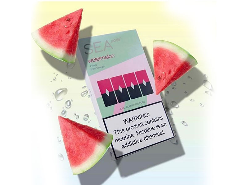 Sea 100 Juul Pod Watermelon