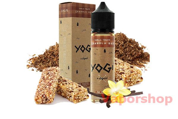 Yogi vanilla tobacco granola bar