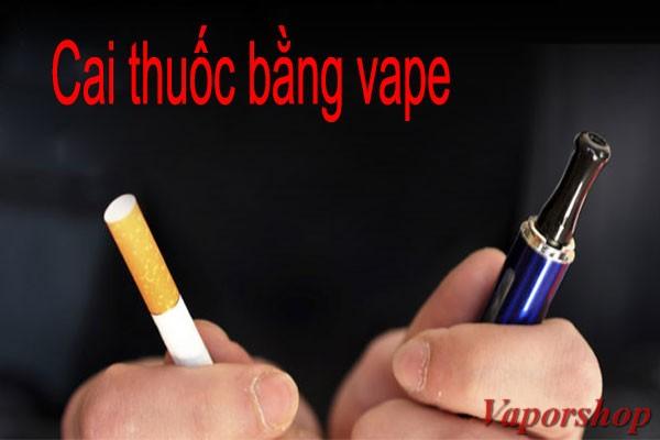 cai thuốc lá bằng vape