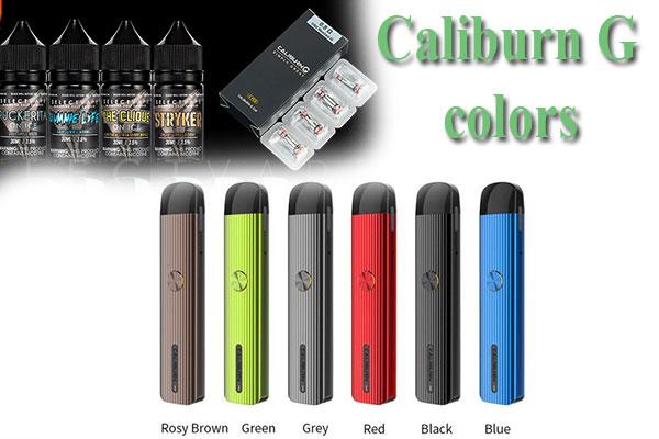 Dòng sản phẩm pod Caliburn