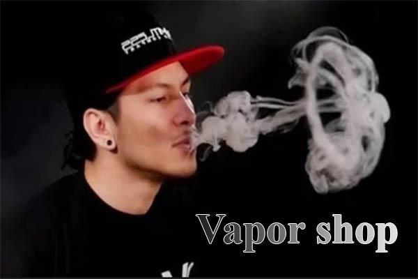 thả khói chữ o