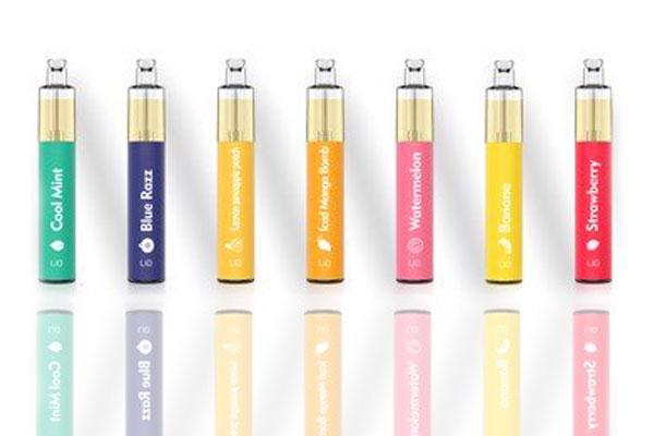 Lio Pod dùng một lần có trên thị trường thuốc lá điện tử