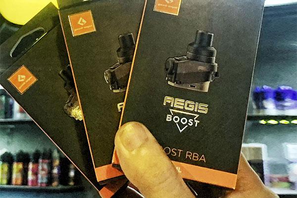 Sản phẩm Aegis Boost chính hãng