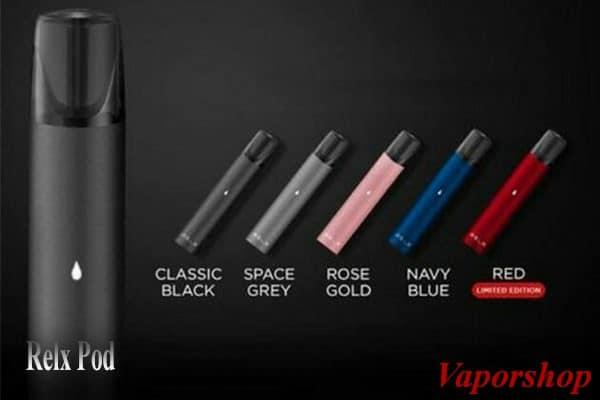 Relx Pod có tinh dầu với nhiều mùi hương khác nhau