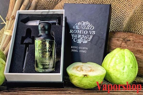 Romio V5 King Guava Salt Nic