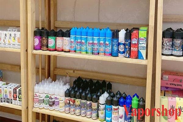 Vaporshop cung cấp tinh  dầu chính hãng