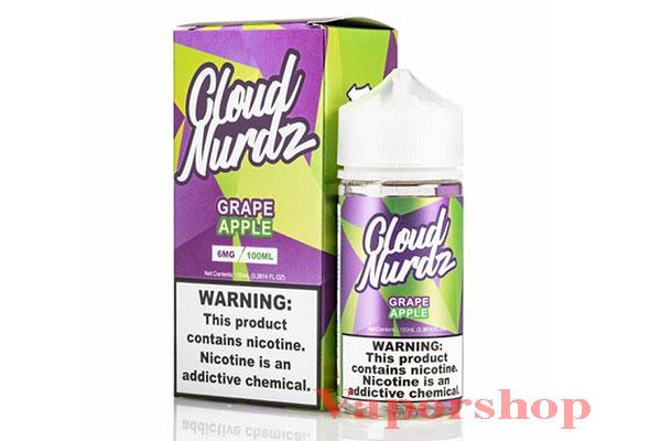 Salt Nicotine Grape Apple 100ml - Cloud Nurdz