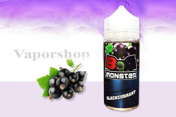 Bog Monster Blackcurrant 100ml vị nho đen