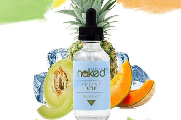Tinh dầu Vape dưa lưới - Naked Frost Bite