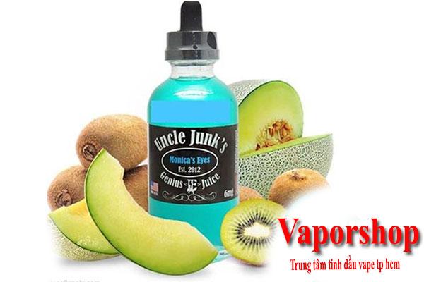 Tinh dầu Vape dưa lưới juice 120ml - Monica's Eyes 120ml