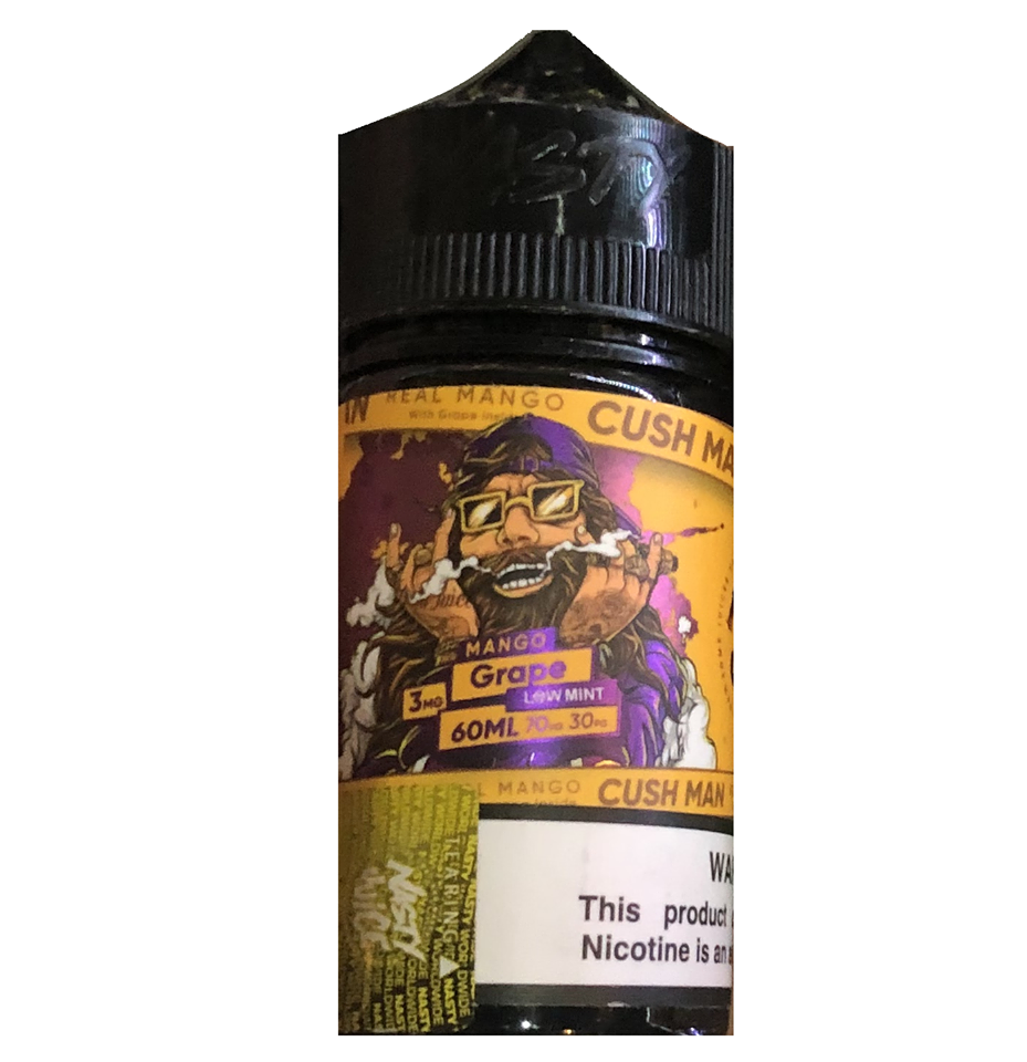NASTY CUSHMAN MANGO GRAPE 60ML