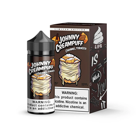 JOHNNY CREAMPUFF CARAMEL TOBACCO 100ML BY TINTED BREW