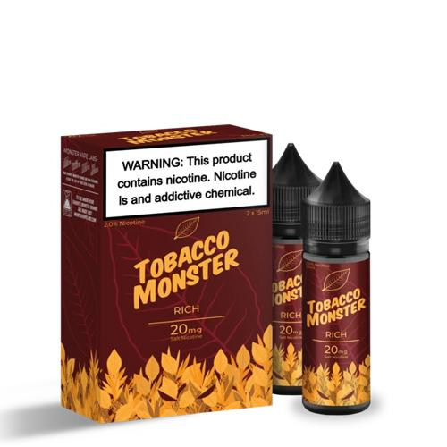 TOBACCO MONSTER SALT RICH 2X15ML